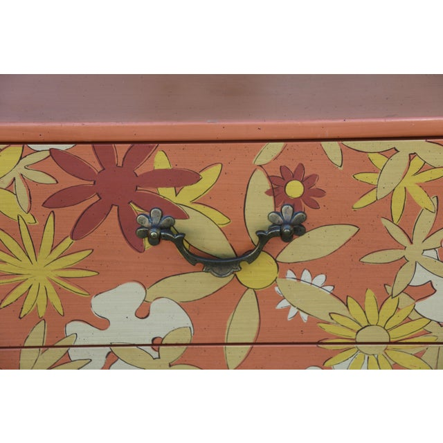 Vintage pair of beautiful retro style 3 drawers Chests of Drawers in excellent condition. We bought them as is , they are...