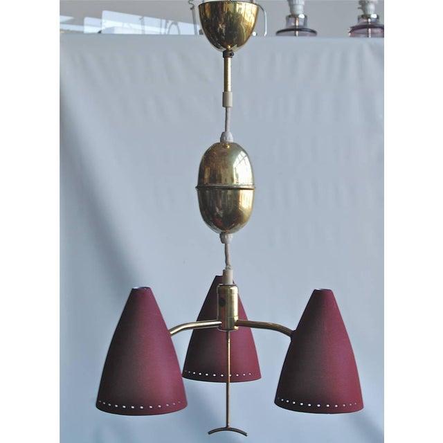 Modern Swedish Pendant, Circa 1960s For Sale - Image 3 of 7