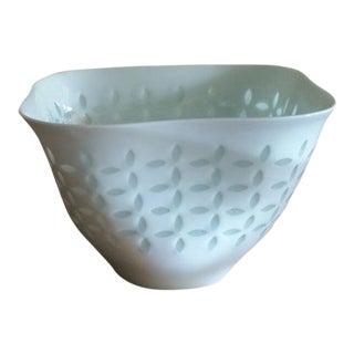 1950s Vintage Friedl Holzer-Kjellberg's Rice Porcelain Bowl For Sale