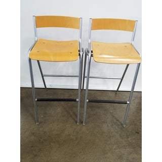 Pair of Thonet Bar Stools Preview