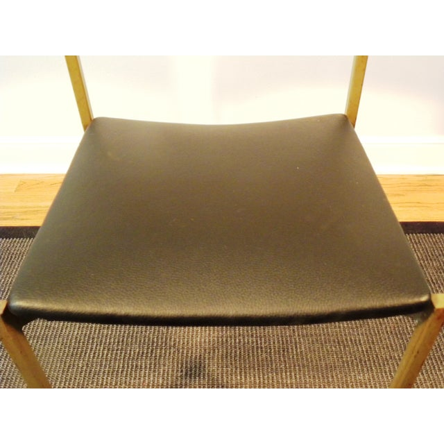 Mid-Century Floating Seat Metal Chairs - A Pair - Image 8 of 8