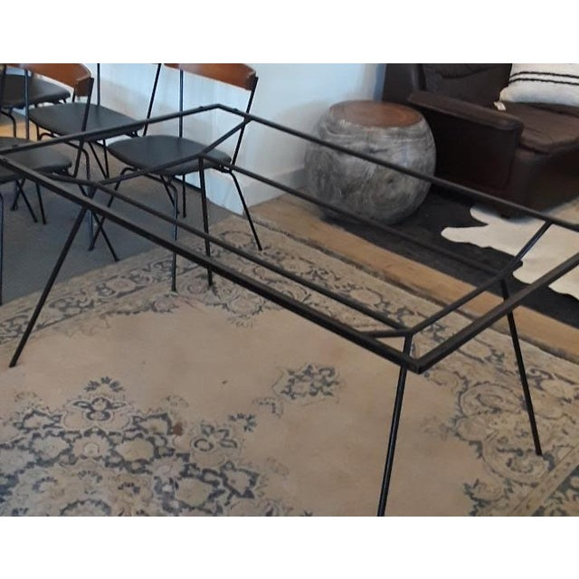 1950s Mid-Century Modern Clifford Pascoe Dining Set - 7 Pieces For Sale In San Francisco - Image 6 of 8
