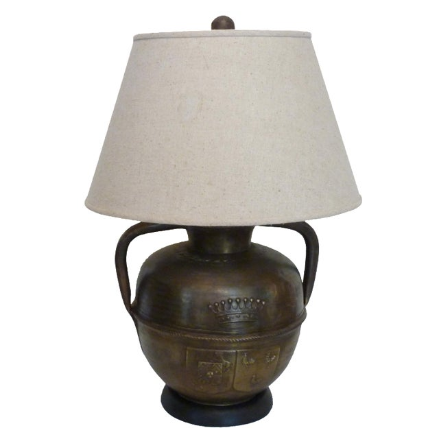 Metal Urn Table Lamp - Image 1 of 4