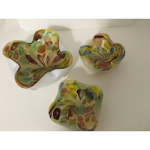 Vintage Murano Art Glass Italian Nut Dishes - 3 - Image 4 of 9