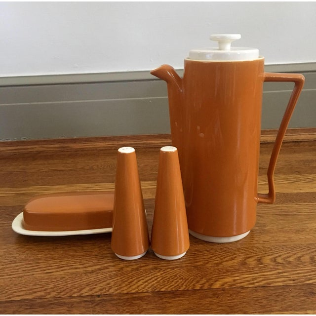 Mid Century Tableware Set - 4 Pieces For Sale In Palm Springs - Image 6 of 7