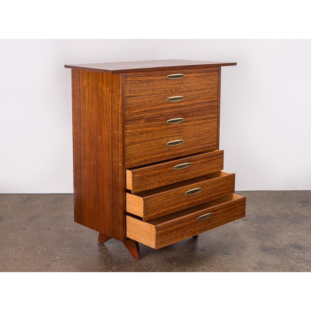 George Nakashima George Nakashima Origins Tall Dresser for Widdcomb For Sale - Image 4 of 11