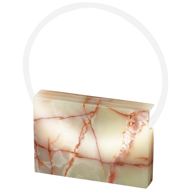 Onyx Table Lamp, Sabine Marcelis For Sale