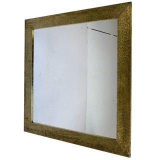 Moroccan Square Gold Mirror For Sale