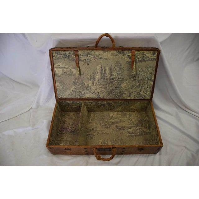 French Antique Travel Dome Trunk For Sale - Image 3 of 13