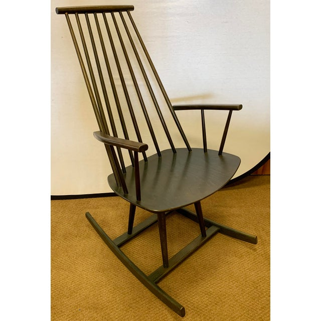 Danish Mid Century Mobler Rocker Rocking Chair For Sale - Image 9 of 9