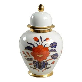 Fitz & Floyd Empress Ginger Jar & Lid For Sale