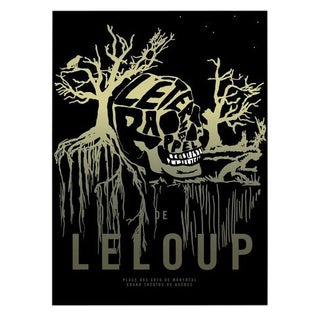 2015 Contemporary Music Poster - l'Eternel Rappel, Le Loup For Sale