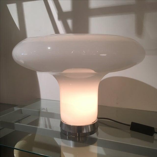 Italian Italian Lareico Mushroom Lamp For Sale - Image 3 of 8