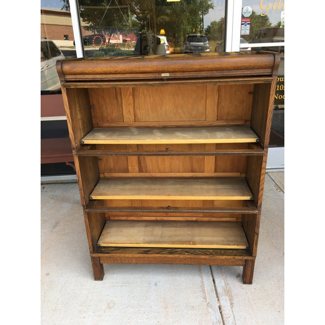 Early 1900 S Antique Lundstrom Barrister Bookcase
