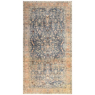 Antique Persian Khorassan Carpet - 11′1″ × 21′1″ For Sale