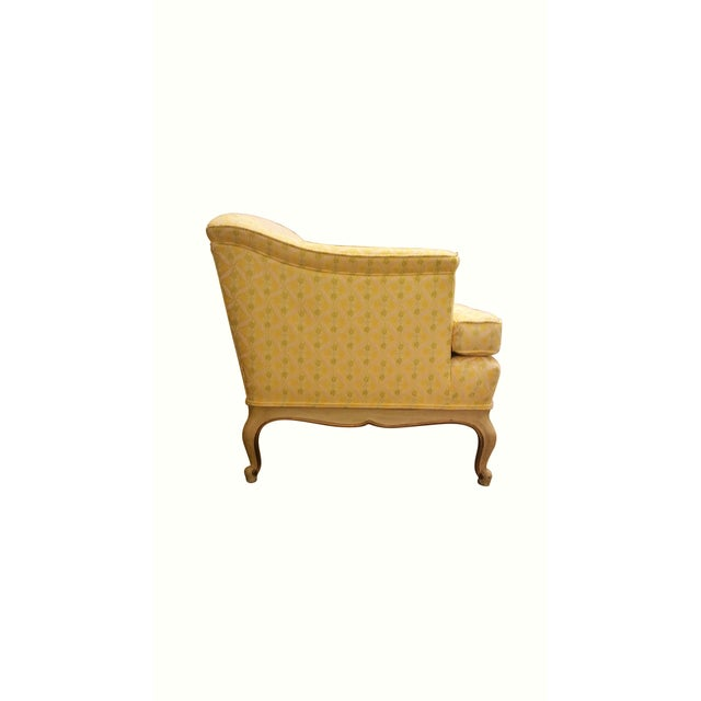Louis XV Style Tufted Sofa in Yellow - Image 4 of 8