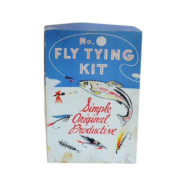 Vintage Fly Tying Kit - Image 1 of 5