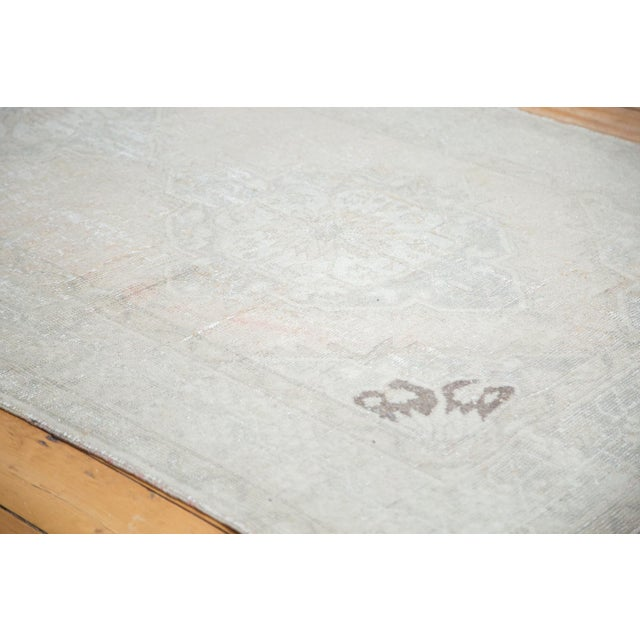 "Distressed Oushak Runner - 4'7"" X 10'8"" - Image 3 of 9"