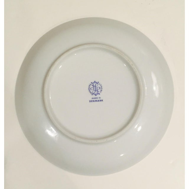 Lyngby Porcelain Vintage Lyngby Christmas Around the World Plate For Sale - Image 4 of 4