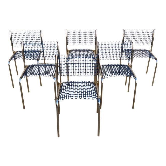 Thonet Sof-Tech Side Chairs by David Rowland - Set of 6 - Image 1 of 12