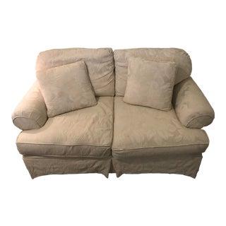 Hickory Hill Creamy White Sofa For Sale