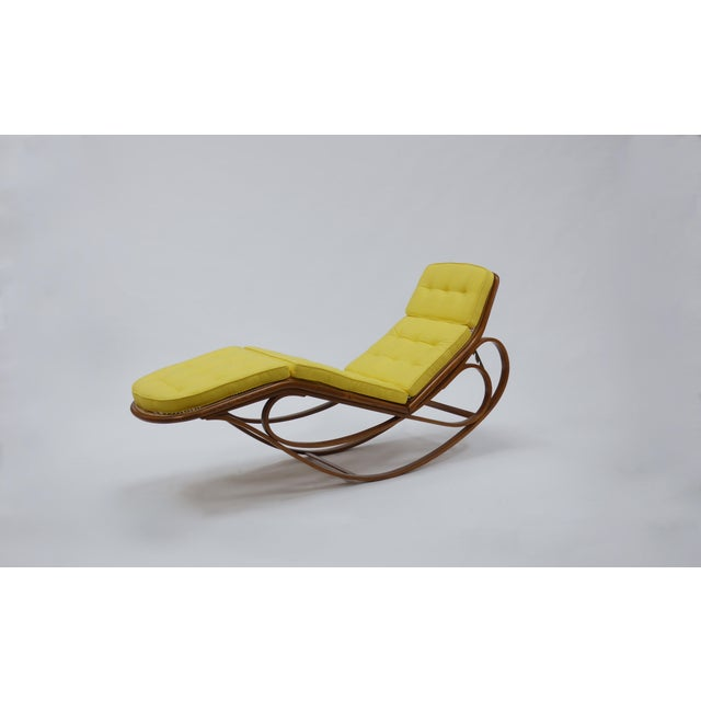 1960s Chaise Lounge by Edward Wormley for Dunbar For Sale - Image 5 of 12