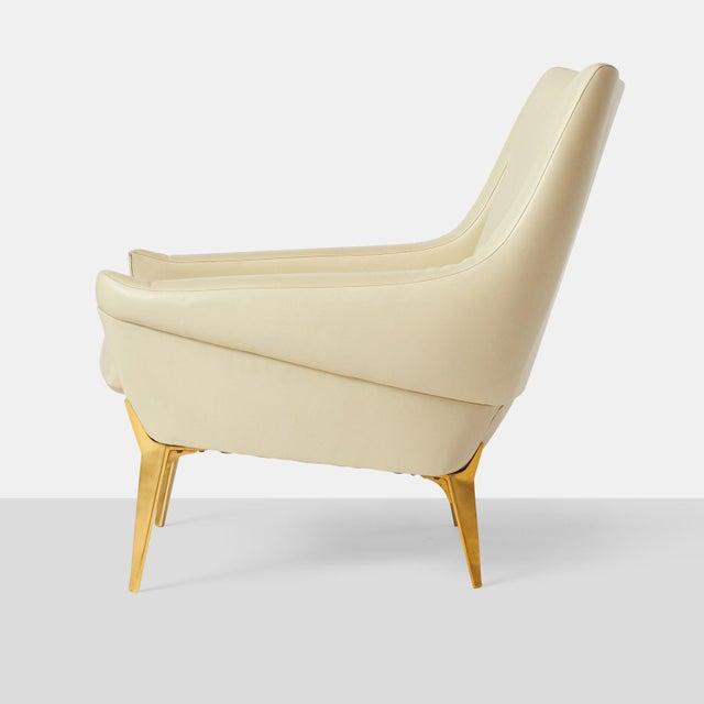 1950s Pair of Lounge Chairs by Charles Ramos For Sale - Image 5 of 9