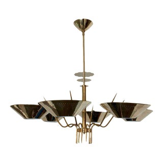 Custom Six-Arm Austrian Chandelier, Circa 1950 Sale!!! For Sale