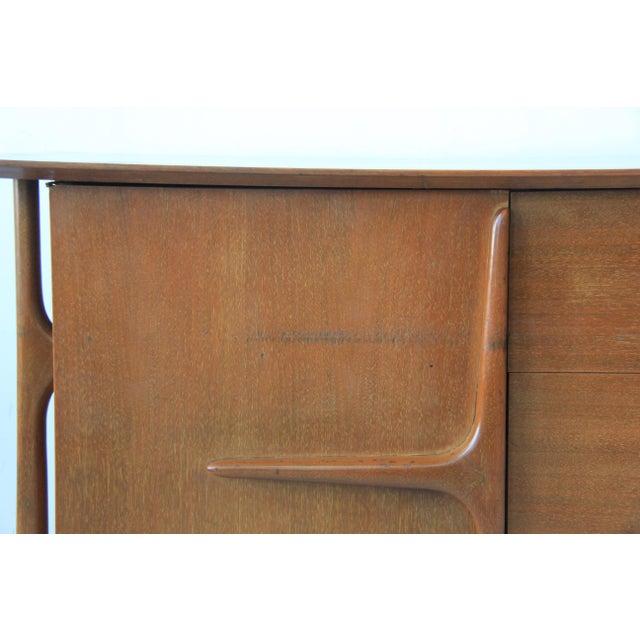 Mid-Century Modern Geometric 9-Drawer Dresser - Image 10 of 10