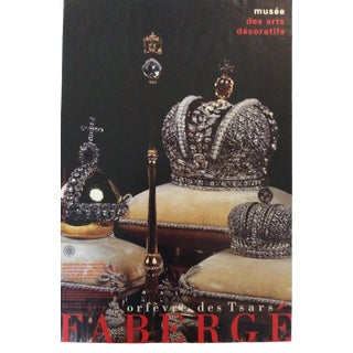 1990s Musée Des Arts Decoratifs Faberge Imperial Fantasies Poster For Sale