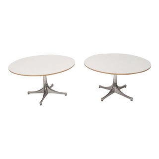 George Nelson for Herman Miller Swag Leg Side Tables 1960's For Sale