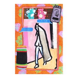 """""""Cuando Tú Quieras Llamar, Traigo MI Celular"""" Original Artwork by Danny Brown For Sale"""