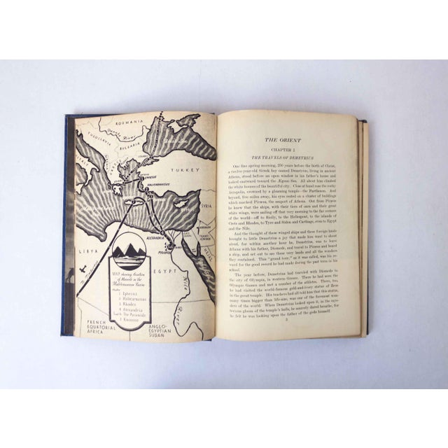 Paper Second Book of Marvels: The Orient, Vintage School Book For Sale - Image 7 of 10