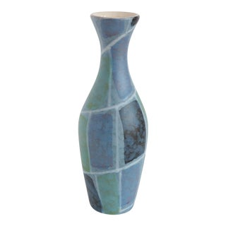 Mid Century West German Pottery Vase For Sale