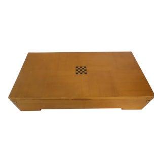 Michael Graves Designed Wooden Chess & Checker Set