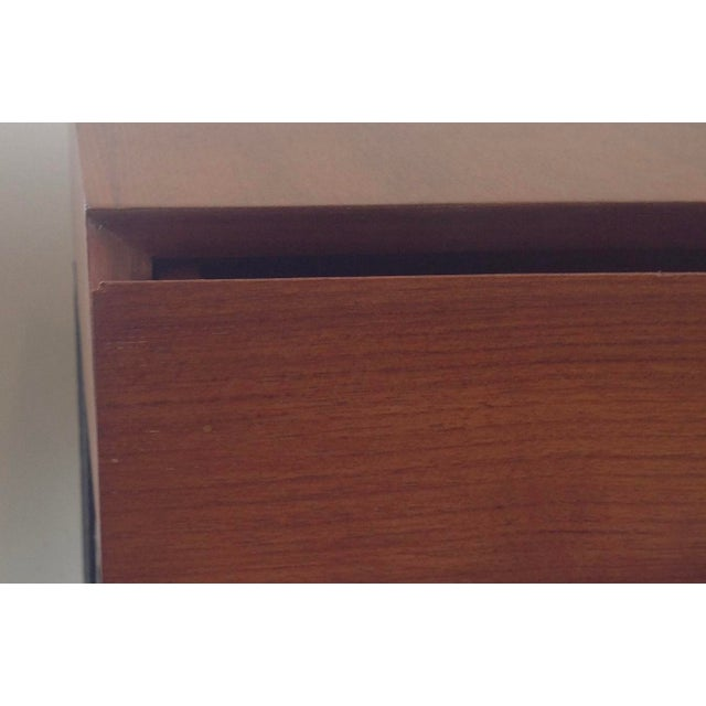 Ashley Hicks Steel & Teak Nightstand - Image 9 of 10