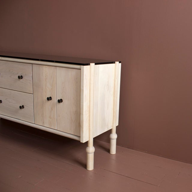 Brass Mae Credenza and Sideboard For Sale - Image 7 of 10