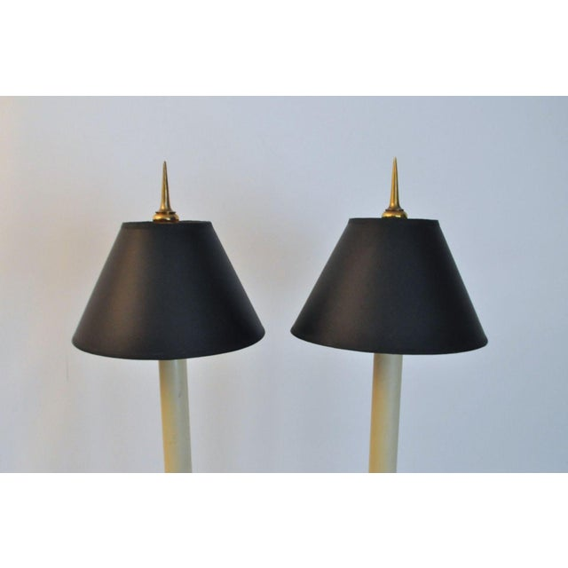 Vintage 1981 Chapman Spike Table Lamps - A Pair - Image 6 of 8
