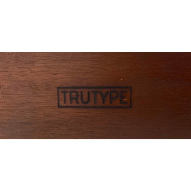 Mid 20th Century Mahogany Statton Trutype Full Four Poster Bedframe For Sale - Image 10 of 12