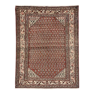 Vintage Persian Hamadan Rug with Modern Traditional Style