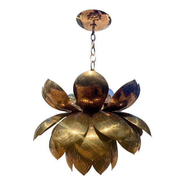 Feldman Lotus Pendant Light For Sale