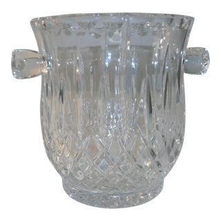 Late 20th Century Vintage Gorham King Edward Crystal Ice Bucket For Sale