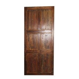 19th Century Antique Wooden Door Preview