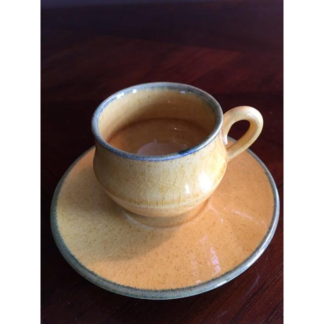Antique Demitasse Cups & Saucers - 8 Pieces - Image 3 of 3