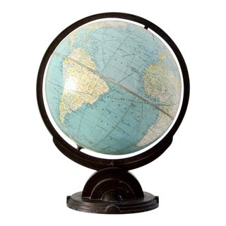 Replogle Globe Ca 1932 For Sale