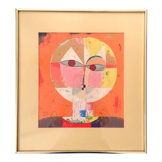 Paul Klee Senecio Head of Man Framed Art Print For Sale
