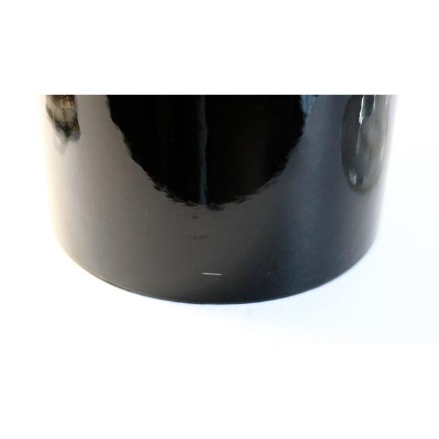 Black & Lucite Ice Bucket - Image 6 of 7