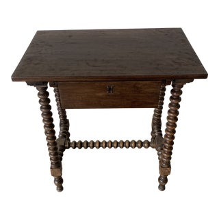 Antique French Petite Writing Desk For Sale