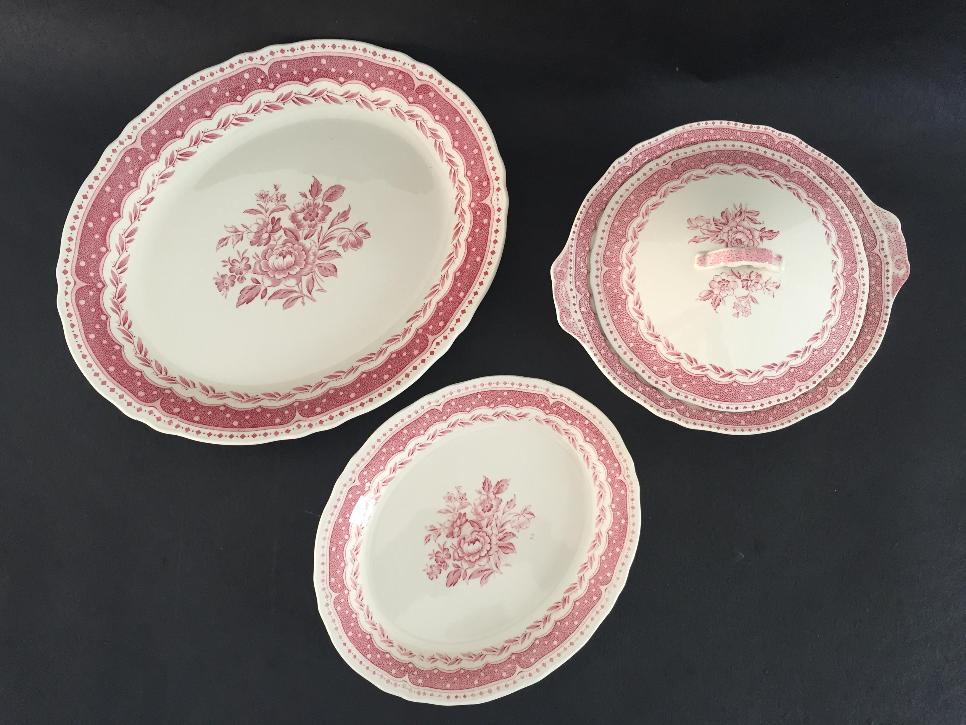 Vintage Avon Pattern Grindley-England Serving Dishes - Set of 3 - Image 8 of  sc 1 st  Chairish & Vintage Avon Pattern Grindley-England Serving Dishes - Set of 3 ...