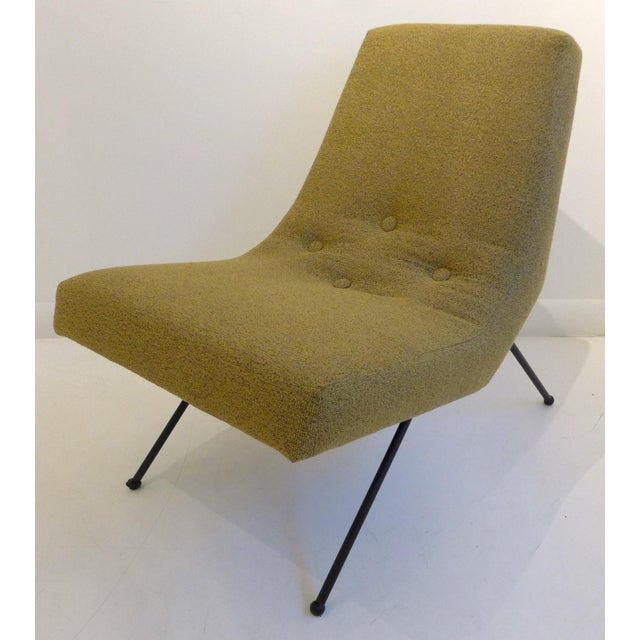 Mid-Century Modern Lounge Chair with Ottoman by Adrian Pearsall For Sale - Image 3 of 8
